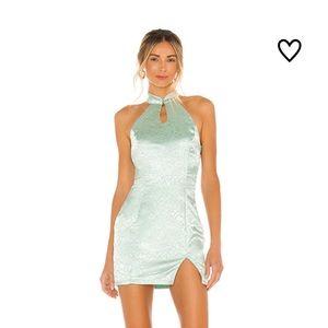 REVOLVE Delaney Mock Neck Dress